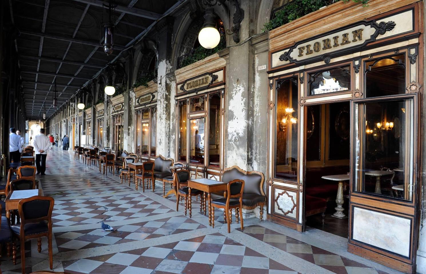 Café Florian à Venise